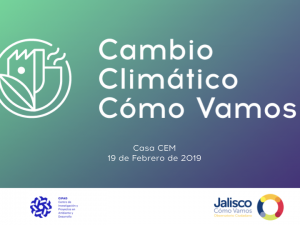 Presentación de Cambio Climático Cómo Vamos