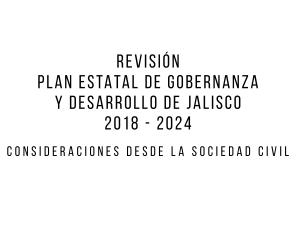 Revisión Sociedad Civil PEGD 2018-2024