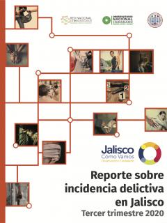 Reporte trimestral sobre Incidencia Delictiva en Jalisco 2020 tercer trimestre